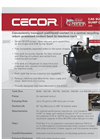 CECOR SumpShark - Model CA5 - Air operated Combination Sump Cleaner/Dispenser - Brochure