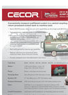 CECOR Sump Shark - Model CE10 Series 60/60 or 100/100 gal - Single Phase Electric, Combination Tanks - Datasheet