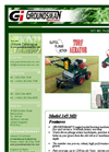 CDF - Model 345MD - Turf Aerator - Brochure