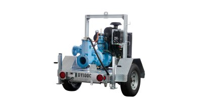 PowerPrime - Model DV100C - Self-priming Centrifugal Trash Pump
