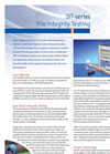 Model SIT-series - Pile Integrity Testing System Brochure