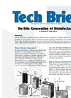 On-Site Generation of Disinfectants Overview Brochure