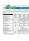 MIOX RIO Series Spec Sheet