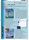 LOG_aLevel Autonomous Remote Sensing of Waterlevels and Waves Brochure