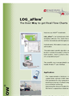 LOG_aFlow Software - To obtain Real Flow Charts Brochure
