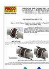Proco - Model Series 261R - Rubber Expansion Joints - Brochure