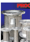 Proco - Model Series TTS - 6201 - Braided Flexible Metal Threaded Connectors - Datasheet