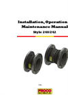Proco - Model Style 240/242 - Molded Single-Sphere Rubber Expansion Joints - Manual