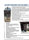 Model 3000P - Gas Pre-Treatment Unit Brochure