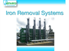 De-IRON - Iron Removal - Brochure
