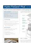 Hydro FloGard Inlet Control BMPs Overview Flyer Brochure