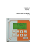 IC Controls - Model 210-P - Industrial pH/ORP Analyzer User Manual