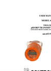 IC Controls - Model 653-9 - Two-Wire pH/ORP Transmitter, Explosion Proof User Manual