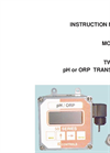 IC Controls - Model 650 - Economical Two-Wire pH Transmitter Users Manual