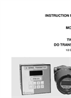 IC Controls - Model 853 - Two-Wire ppm Dissolved Oxygen Transmitter User Manual