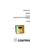 IC Controls - Model 453 - Two-Wire Conductivity Transmitter User Manual
