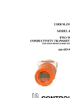 IC Controls - Model 453-9 - Two-Wire Conductivity Transmitter, Explosion Proof User Manual