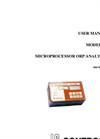IC Controls - Model 654 - Microprocessor ORP Analyzer User Manual