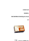 IC Controls - Model 655-T - Industrial pH Analyzer User Manual