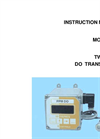 IC Controls - Model 850 - Economical ppm Dissolved Oxygen Transmitter User Manual