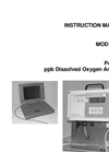 IC Controls - Model 869 - Portable ppb Dissolved Oxygen Analyzer - User Manual