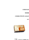 IC Controls - Model 455 - Conductivity Microprocessor Analyzer User Manual