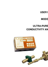 Model 455-63 - Ultra-Pure Water Conductivity Analyzer User Manual