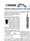 IC Controls - Model 613 - Reliable pH Measurement in Oily Applications - Application Note