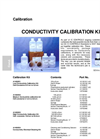 IC Controls - Model cond-kit: - Conductivity Calibration Kits - Specifications