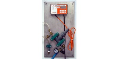 IC Controls - Model 875-25 - Free Available Chlorine Analyzer With Sample Panel