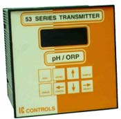 IC Controls - Model 653 - Two-Wire pH / ORP Transmitter