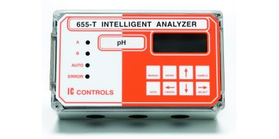 IC Controls - Model 655-T - Industrial pH Analyzer