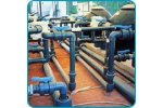 Thermoplastic piping for industrial