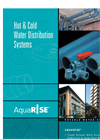 AquaRise - Hot & Cold Potable Water Distribution System – Brochure