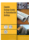 System 15 / System XFR - Complete Drainage Systems For Noncombustible Buildings – Brochure