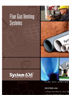 System - 636 - Flue Gas Venting – Brochure
