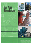 Acid Waste Piping Systems Brochure Brochure