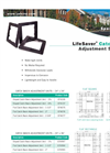 Lifesaver Catchbasin Adjustment Systems Spec Sheet