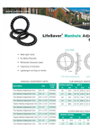 Lifesaver Manhole Adjustment Systems Spec Sheet