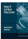 Acid Waste Piping Systems Technical Manual