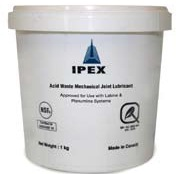 IPEX - Lubricant Approved For Use With Labline & Plenumline Mechanical Joint Acid Waste Systems