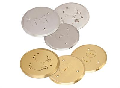 IPEX - Brass Nickel Cover Plates