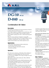 Model DG-10 - Combination Air Valve Brochure