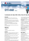 Model DT-04 - Combination Air Valve Brochure