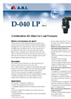 Model D-040L - Combination Air Valve Brochure