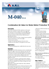 Model M-040 - Combination Air Valve Brochure