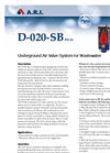 Model D-020SB - Underground Air Valve Brochure