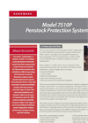 Accusonic - Model 7510P - Penstock Protection System Brochure