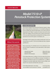 Accusonic - Model 7510+P - Penstock Protection System- Brochure