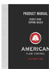 American - Model Series 2500 - Resilient Wedge Tapping Valves - Manual